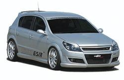 Обвес на Opel Astra H 5-ти дверная в стиле GS/R от компании Lumma