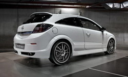 Бампер задний Opel Astra H в стиле Indy Tras