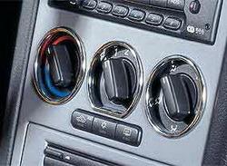 Кольца Opel Astra G хромированные