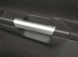 Накладки на дверные ручки Opel Astra H, Opel Tigra, Opel Zafira B в стиле Mattchrome-Look