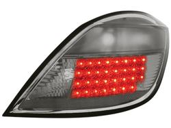 Фонари задние Opel Astra H Хэтчбек дымчатого цвета LED (светодиодные)